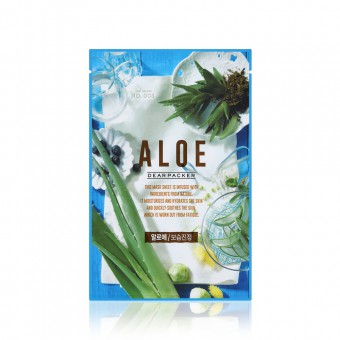 Dear Packer Real Aloe Mask